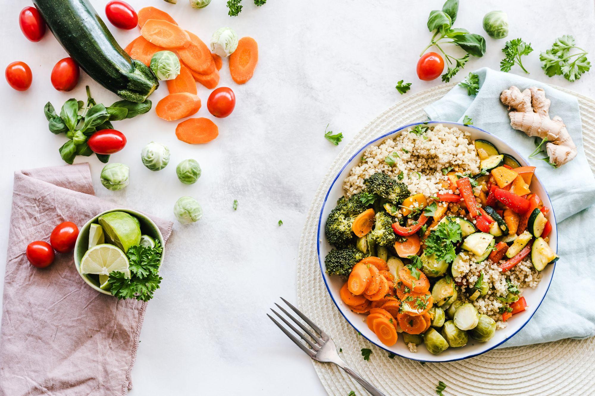 kuskus se zeleninou