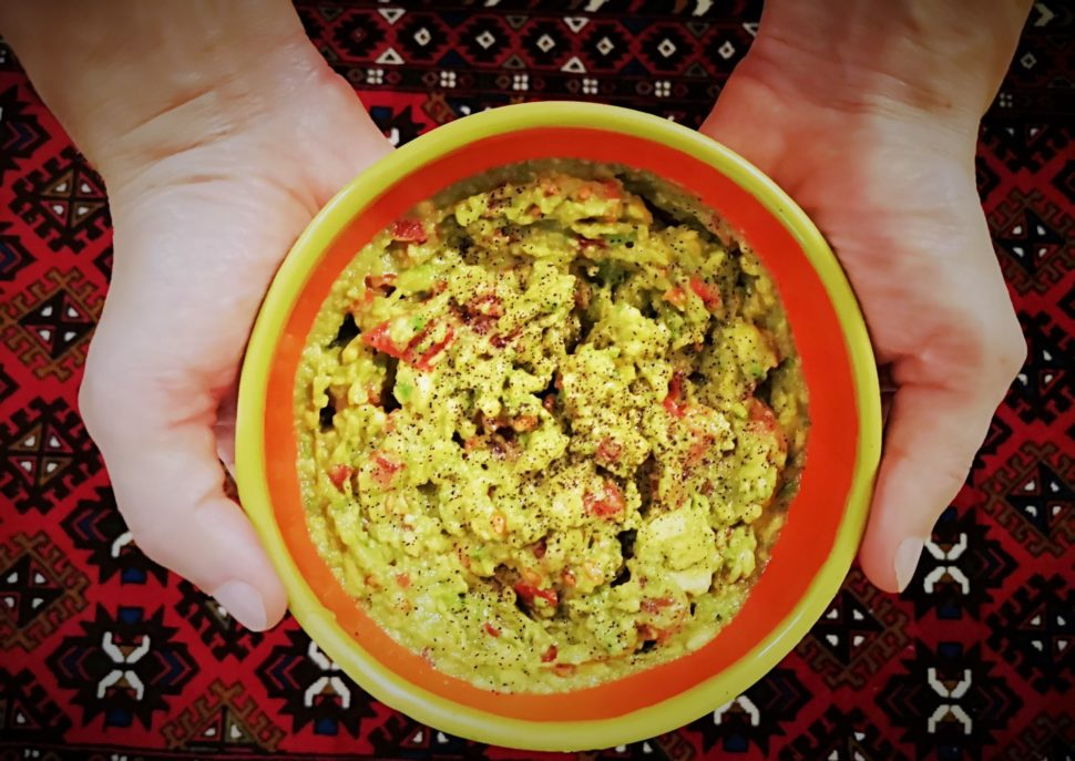 Guacamole - avokádová pomazánka